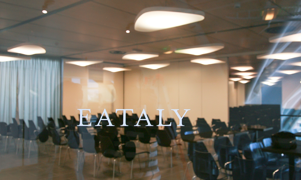 Eataly movable insulated walls