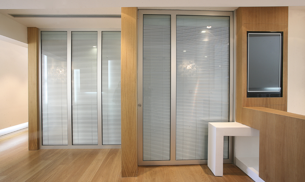 Glass movable sound-proof partition walls: photo 1