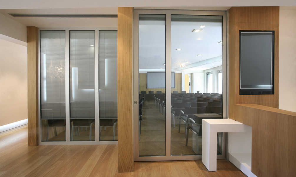 Glass movable sound-proof partition walls: photo 3